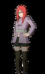 Karin Uzumaki render [Ultimate Ninja Storm 2] by maxiuchiha22