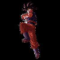 Goku (Kaioken) render [SDBH World Mission] by maxiuchiha22