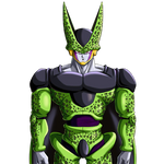 Perfect Cell render  [DB Legends] by maxiuchiha22