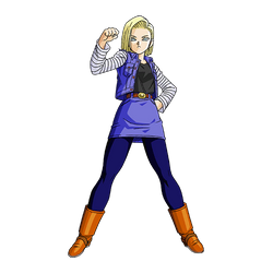 Android 18 render [SDBH World Mission] by maxiuchiha22