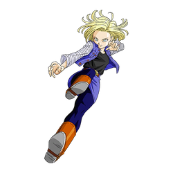 Android 18 render 2 [SDBH World Mission] by maxiuchiha22