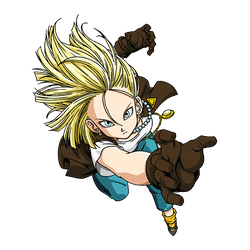 Android 18 render 3 [SDBH World Mission] by maxiuchiha22