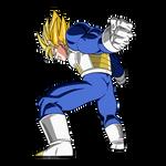 Goku SSJ (Armor) render [SDBH World Mission]