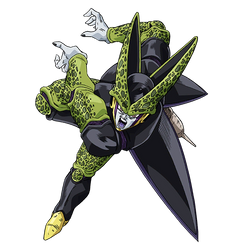 Perfect Cell render 2 [SDBH World Mission] by maxiuchiha22
