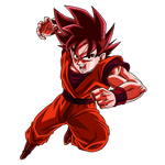 Goku (Kaioken) render [SDBH World Mission]