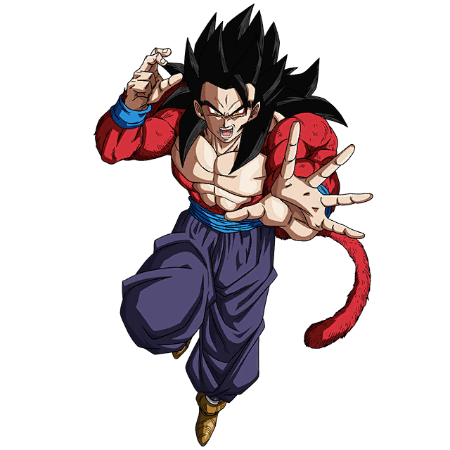 Gohan (GT) SSJ4 Render 3 [SDBH World Mission] By