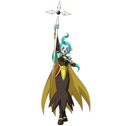 Putine (Demon Goddess)render 3[SDBH World Mission] by maxiuchiha22