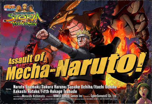 Assault of Mecha-Naruto [Ninja Storm Revolution]