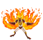 Kyubi Mecha-Naruto render [Ninja Storm Revolution]