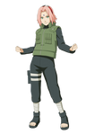 Sakura Haruno (War) render [Ninja Storm Revolution by maxiuchiha22