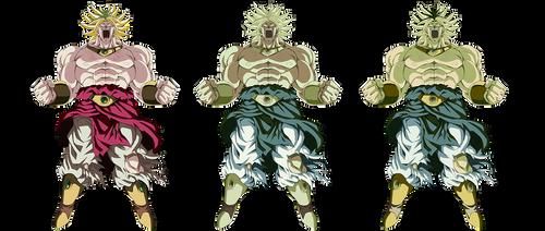 Broly LSSJ render 3 [Dokkan Battle] by maxiuchiha22