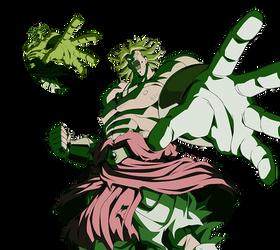 Broly LSSJ render 4 [Dokkan Battle] by maxiuchiha22