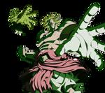 Broly LSSJ render 4 [Dokkan Battle]