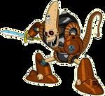 Pirate Robot 1 render [Xkeeperz]