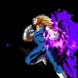 Majin Vegeta render [DB Legends] by maxiuchiha22