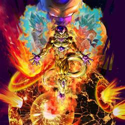 Golden Frieza BG 3 [DB Legends] by maxiuchiha22
