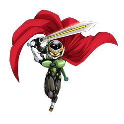 Great Saiyaman 3 (Trunks) render 2 [Dokkan Battle] by maxiuchiha22