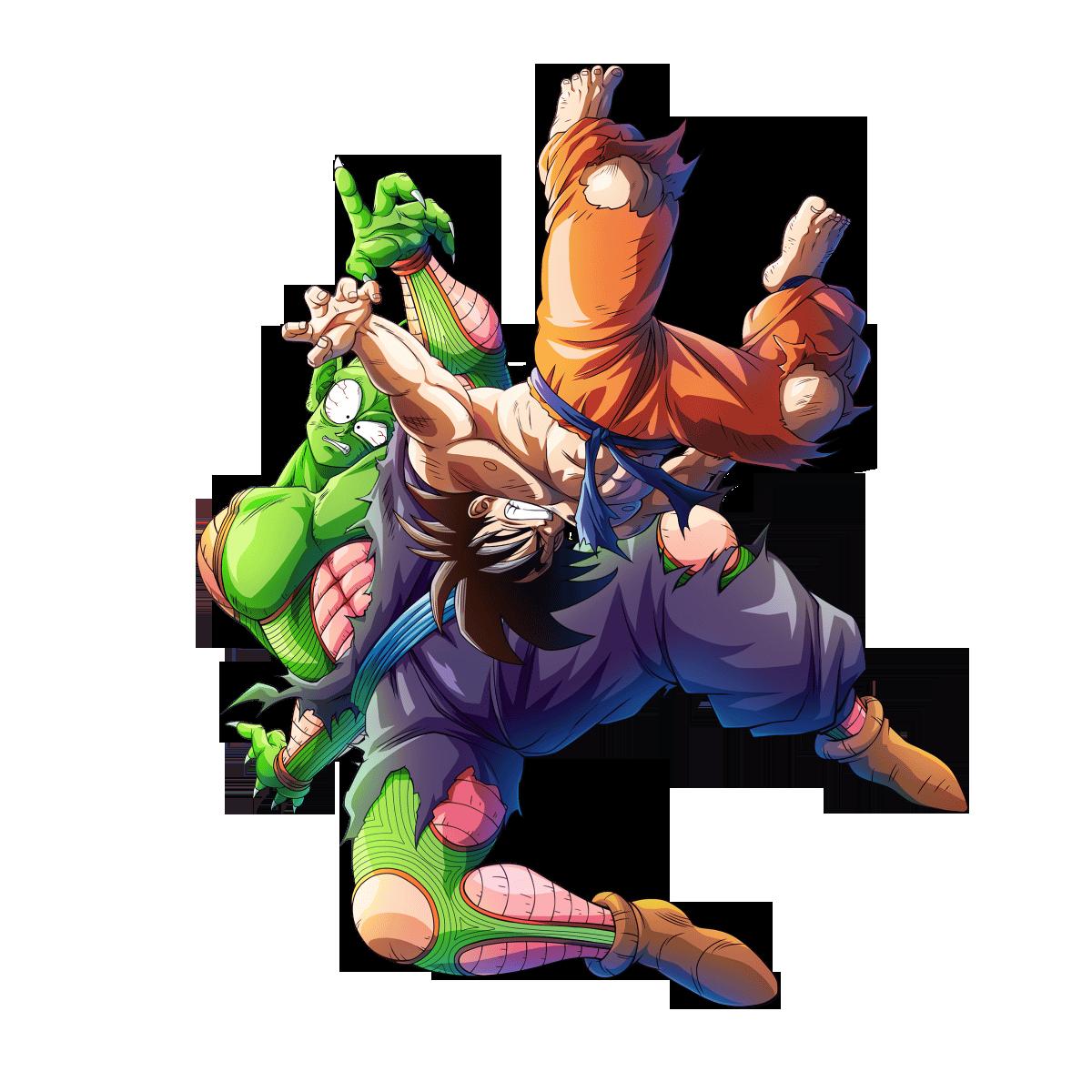 Goku Vs Piccolo render Bucchigiri Match by maxiuchiha22 ...