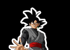 Goku Black render reaction 1 [Bucchigiri Match]
