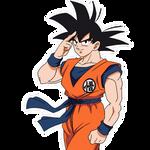 Goku (Broly Movie) render 3 [Bucchigiri Match]