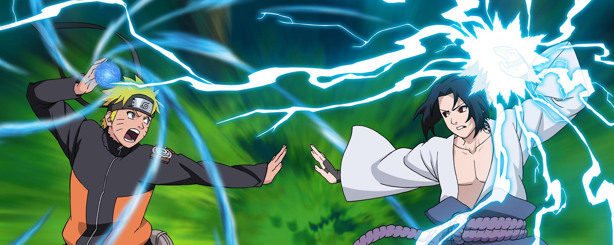 Naruto Shippuden Naruto Vs Sasuke Wallpaper 3 By Maxiuchiha22 On