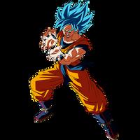 Goku SSGSS render [SDBH World Mission]