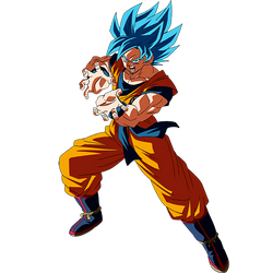 Goku SSGSS render [SDBH World Mission]