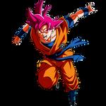 Goku SSG (Capsule Corp)render [SDBH World Mission]
