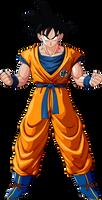 Son Goku render [DBZ Kakarot]
