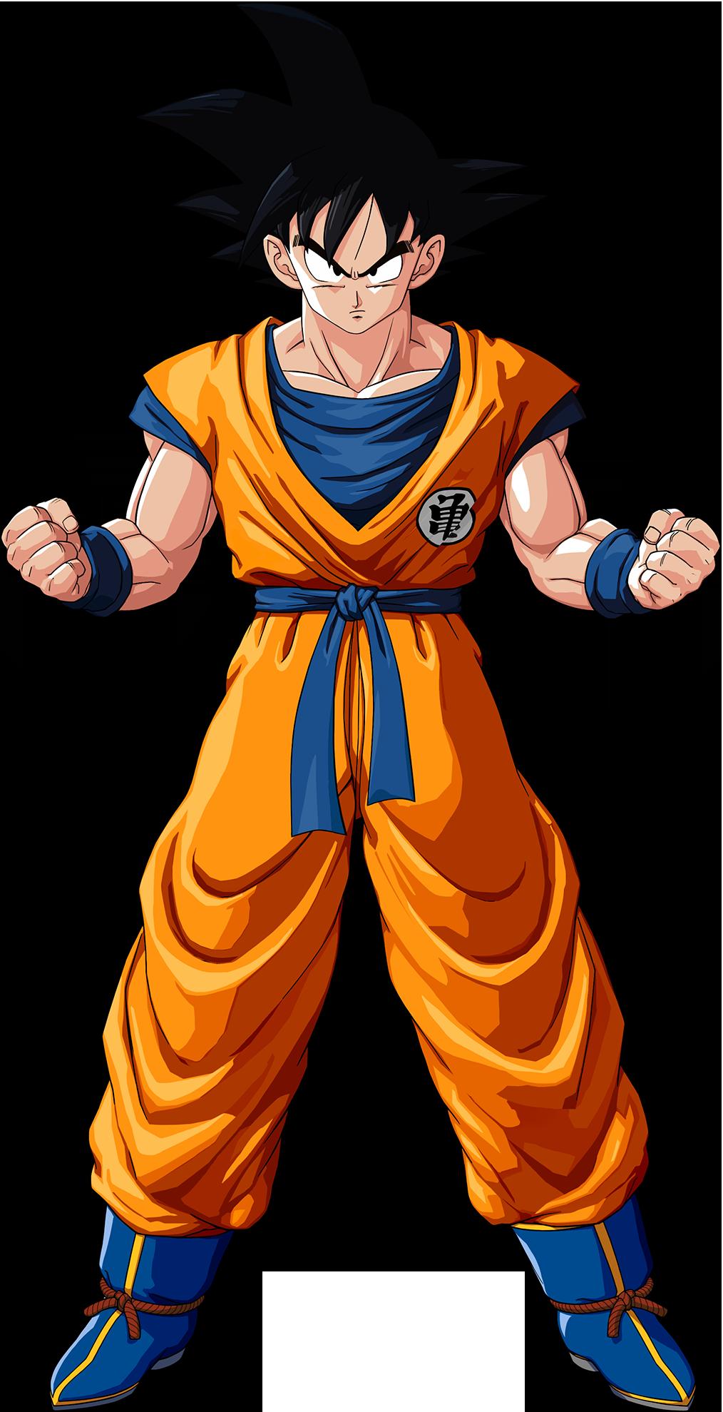 Son Goku render DBZ Kakarot by maxiuchiha22 on DeviantArt