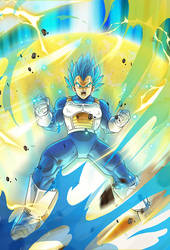 Vegeta SSGSS card [Bucchigiri Match]