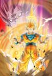Goku (Vs Majin Vegeta) card [Bucchigiri Match]