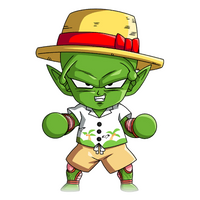 Chibi Piccolo (Summer) render [FighterZ]