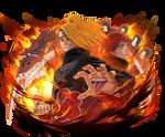 Deidara render 2 [Ultimate Ninja Blazing]