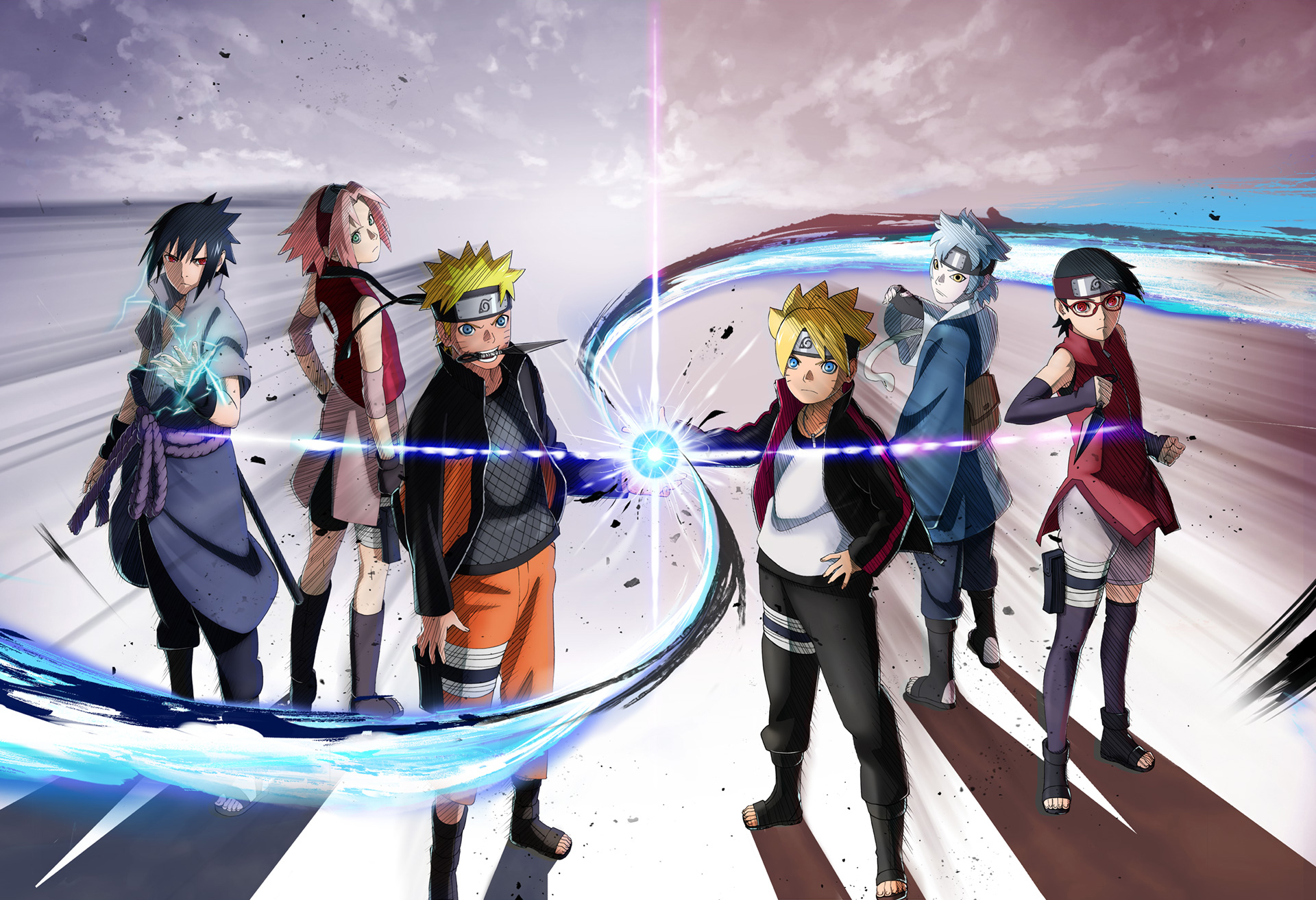 Naruto X Boruto Wallpaper