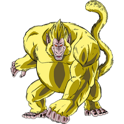 Golden Great Ape render 2 [SDBH World Mission]