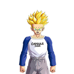 Future Trunks SSJ (Young) render 4 [DB Legends]