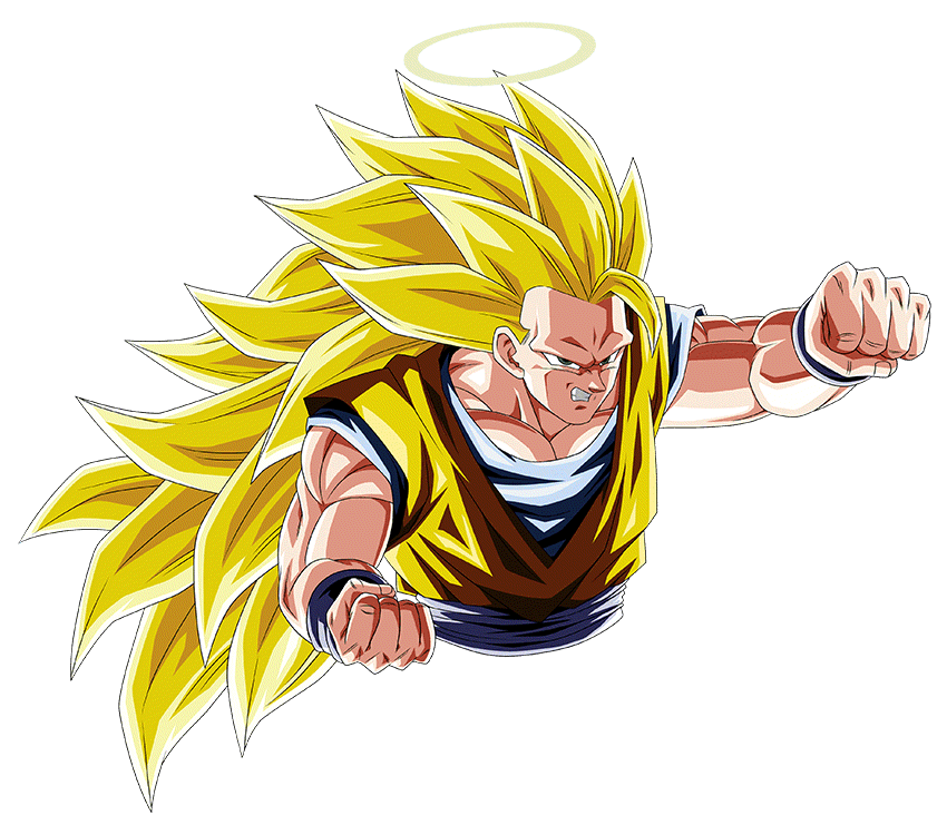 Goku Ssj3 Render 7 Dokkan Battle By Maxiuchiha22 On Deviantart