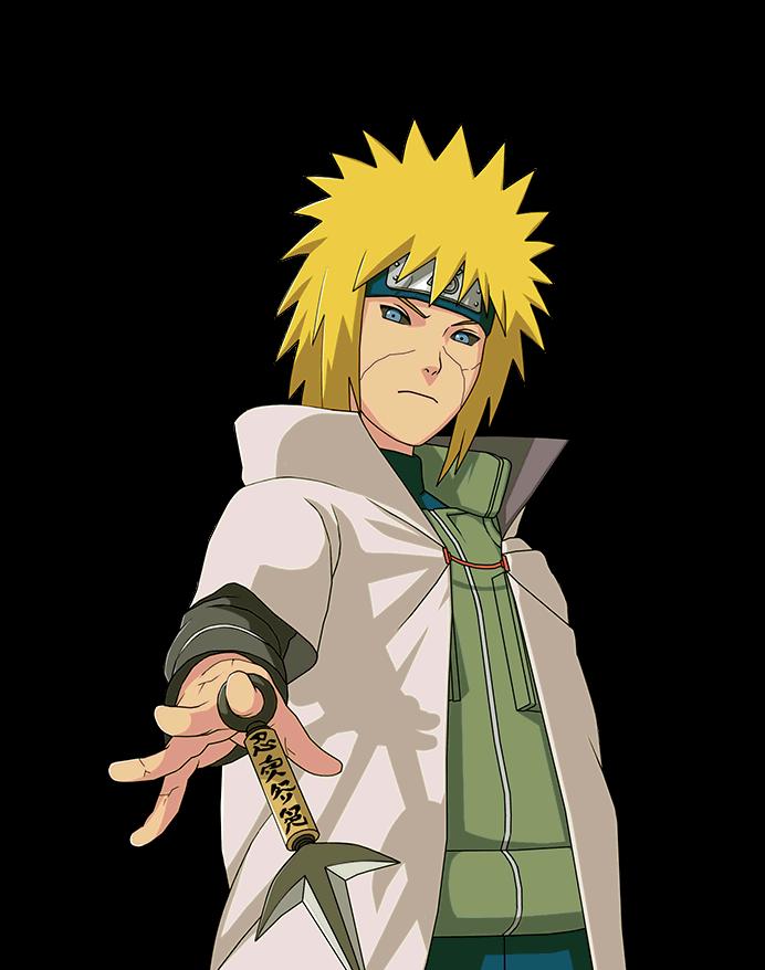 Edo Minato Render Naruto Mobile By Maxiuchiha22 On Deviantart
