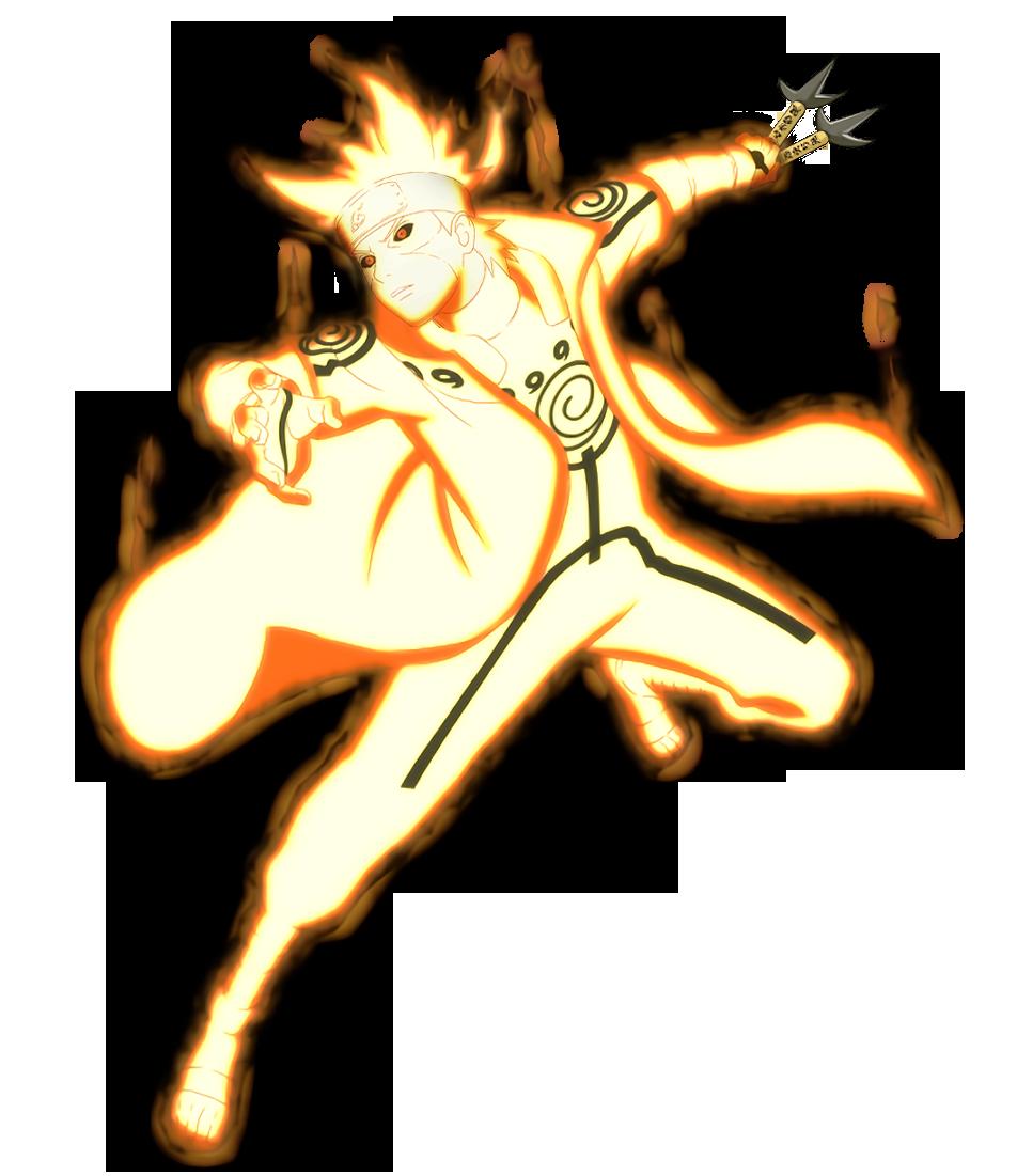 Edo Minato Kurama Mode Render Naruto Mobile By Maxiuchiha22 On Deviantart