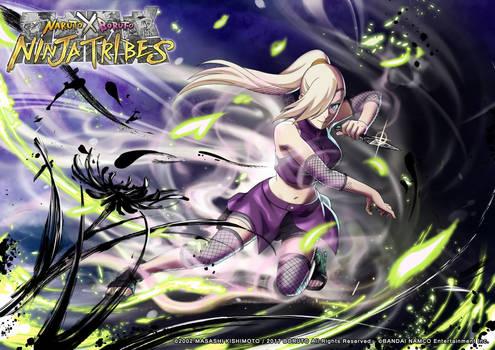 Ino Yamanaka Wallpaper [NxB Ninja Tribes]