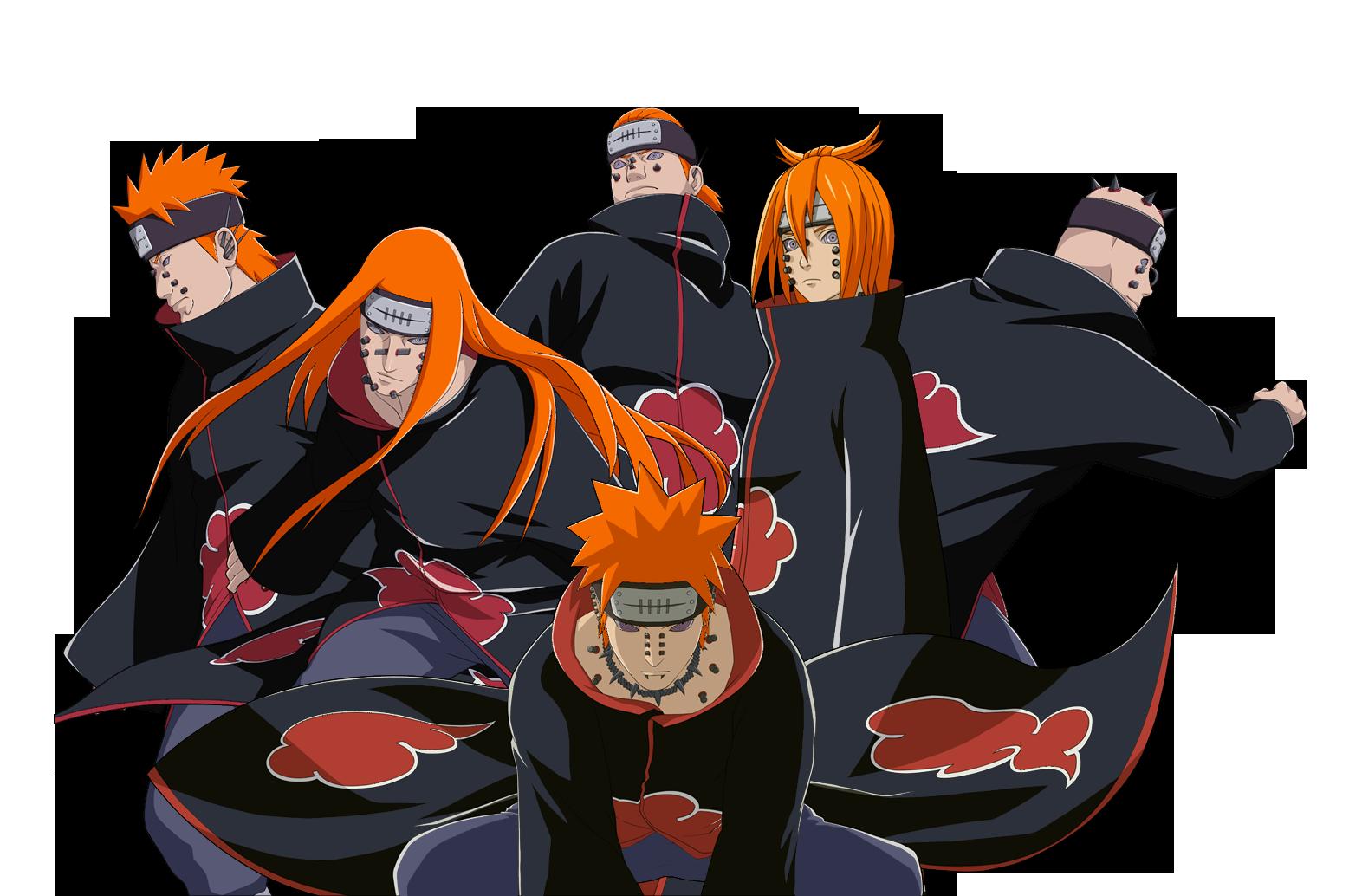 Six Paths of Pain render [Naruto OL]