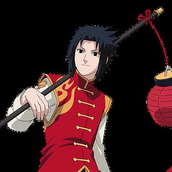 Sasuke Uchiha (Chinese) render 2 [Naruto OL]