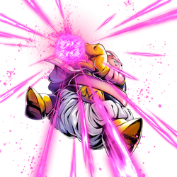 Majin Buu render 2 [DB Legends]