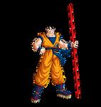 Goku (Broly Movie) render [Dokkan Battle]