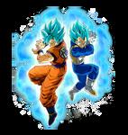 Goku Vegeta Ssgss Wallpaper Dokkan Battle By Maxiuchiha22 On Deviantart