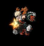 Katsuki Bakugo render [My Hero One's Justice 2]