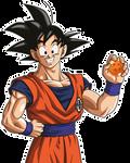 Son Goku render [Website]