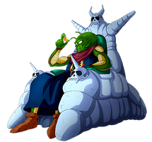 Old King Piccolo render [Dokkan Battle]