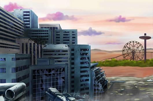 Desert City BG [DB Legends]